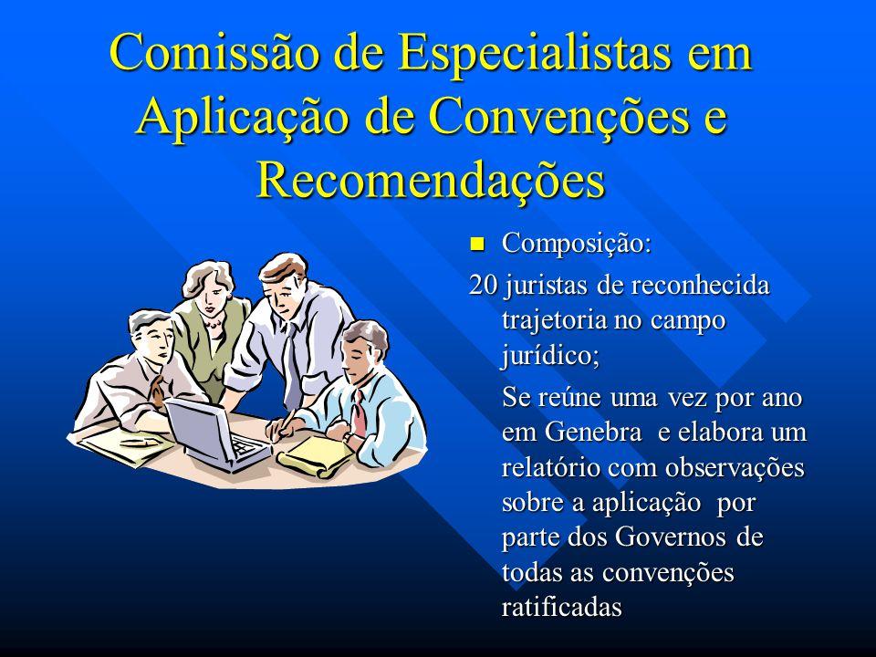 Comissão de Especialistas em Aplicação de Convenções e Recomendações