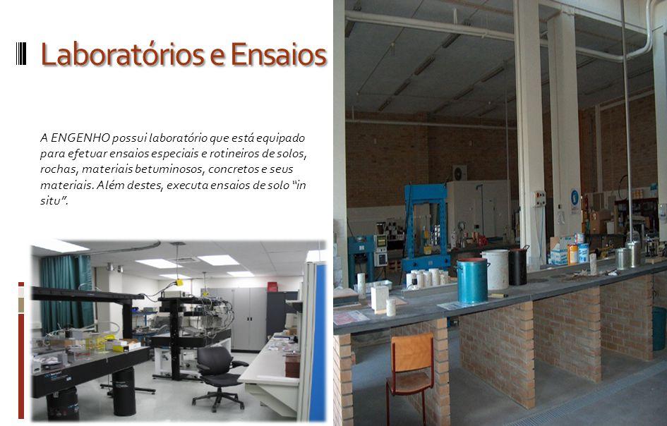 Laboratórios e Ensaios