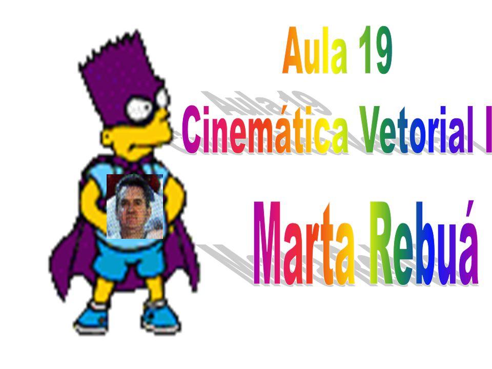 Aula 19 Cinemática Vetorial I Marta Rebuá