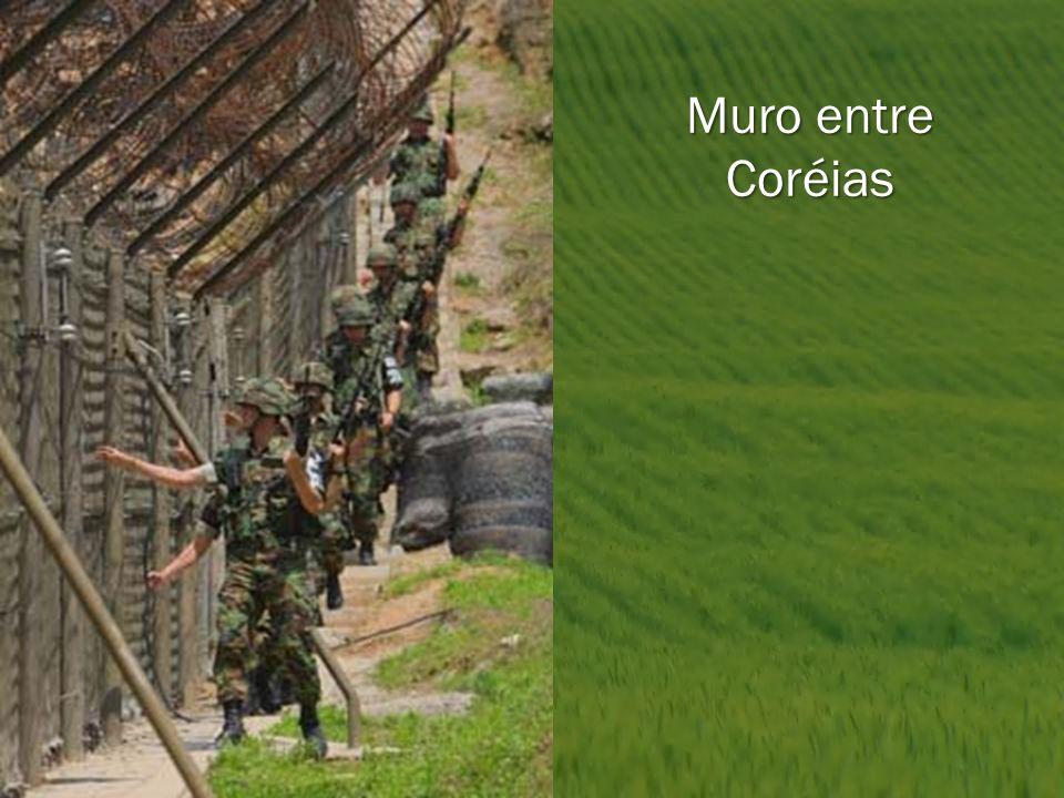 Muro entre Coréias
