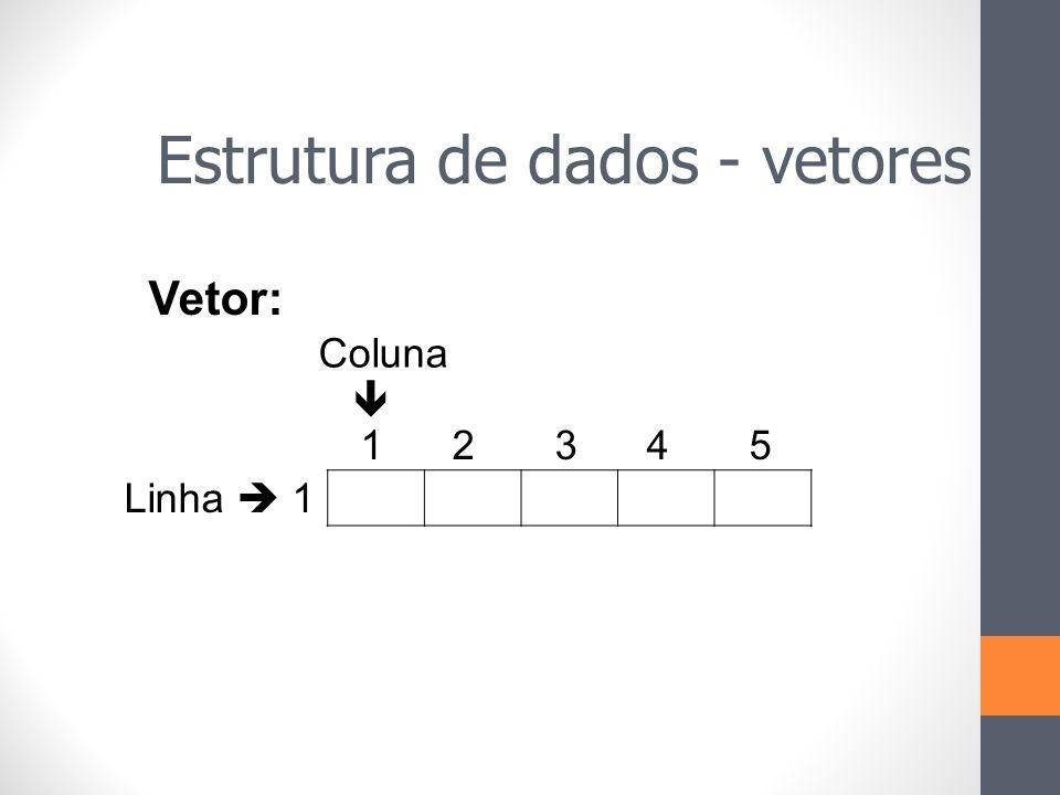 Estrutura de dados - vetores
