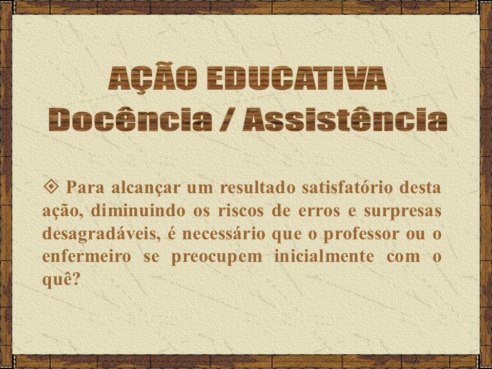 Docência / Assistência