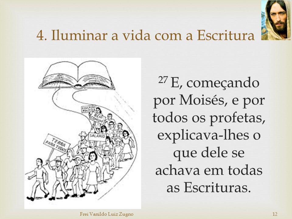 4. Iluminar a vida com a Escritura