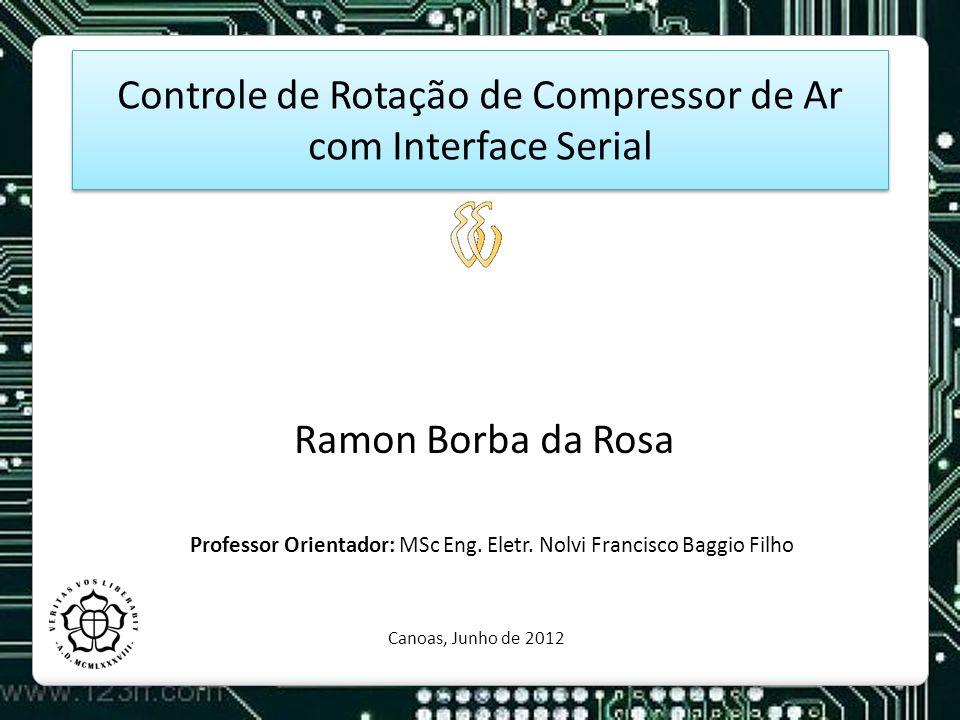 Controle de Rotação de Compressor de Ar com Interface Serial