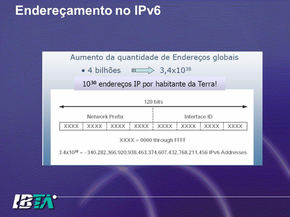 1030 endereços IP por habitante da Terra!