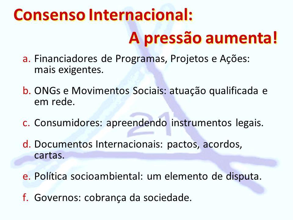 Consenso Internacional: