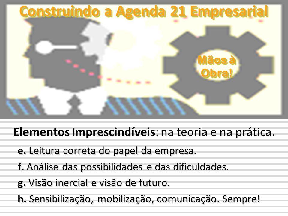Construindo a Agenda 21 Empresarial