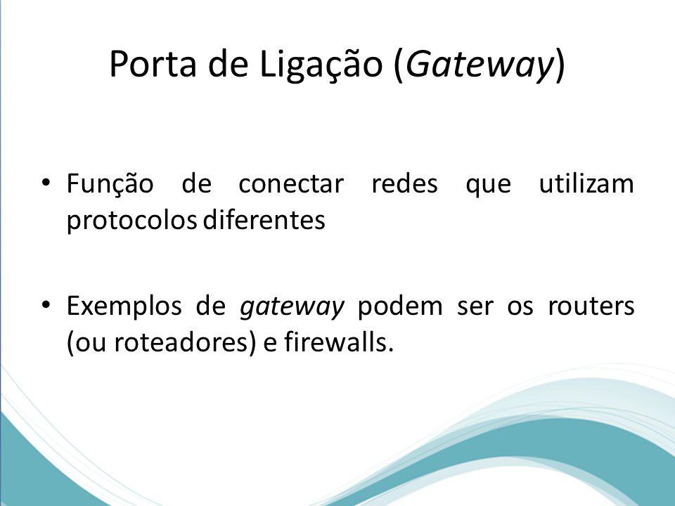 Porta de Ligação (Gateway)