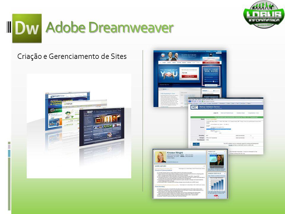 Adobe Dreamweaver Criação e Gerenciamento de Sites