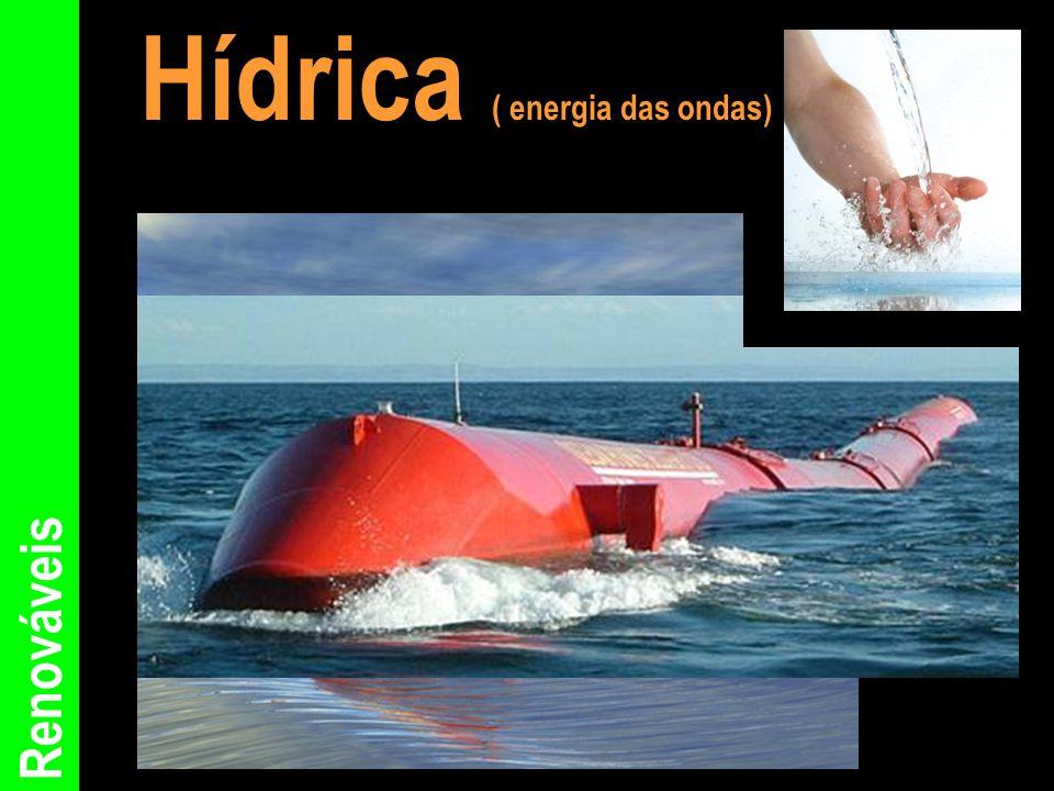 Hídrica ( energia das ondas)