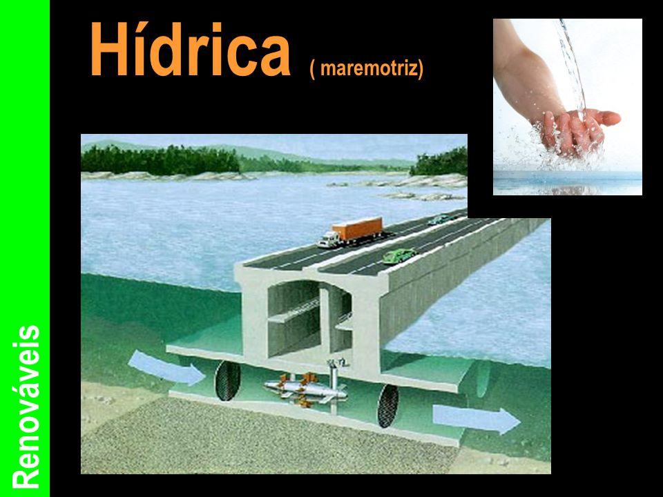 Hídrica ( maremotriz) Renováveis