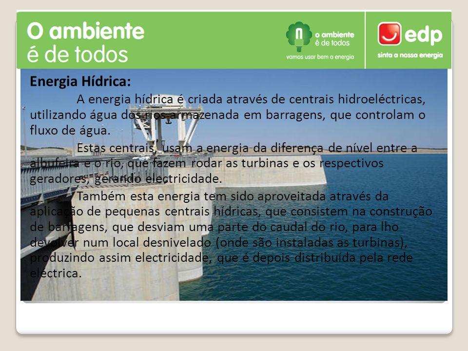 Energia Hídrica: