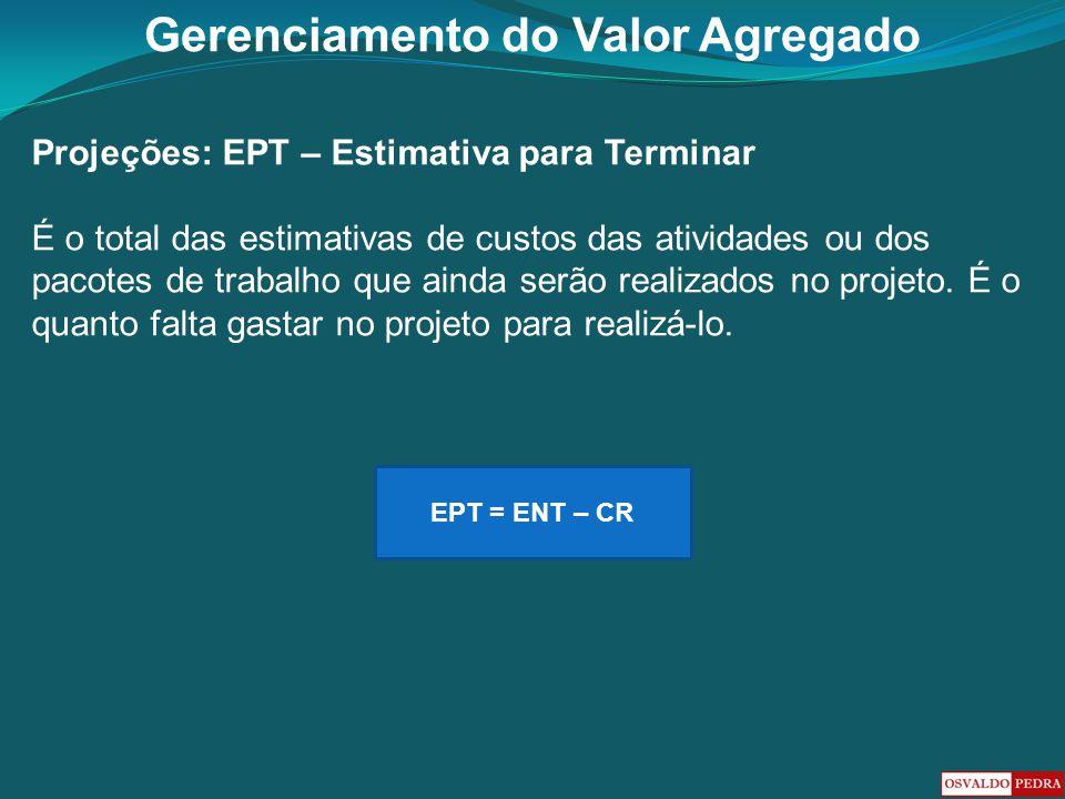 Projeções: EPT – Estimativa para Terminar