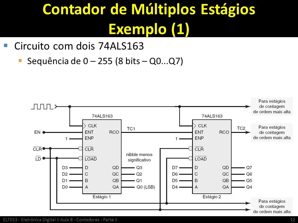Contador de Múltiplos Estágios Exemplo (1)