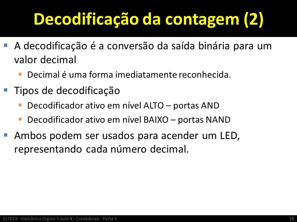 Decodificação da contagem (2)