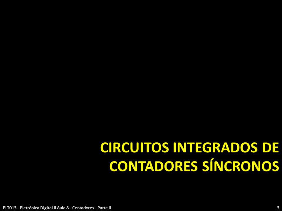 Circuitos integrados de contadores síncronos