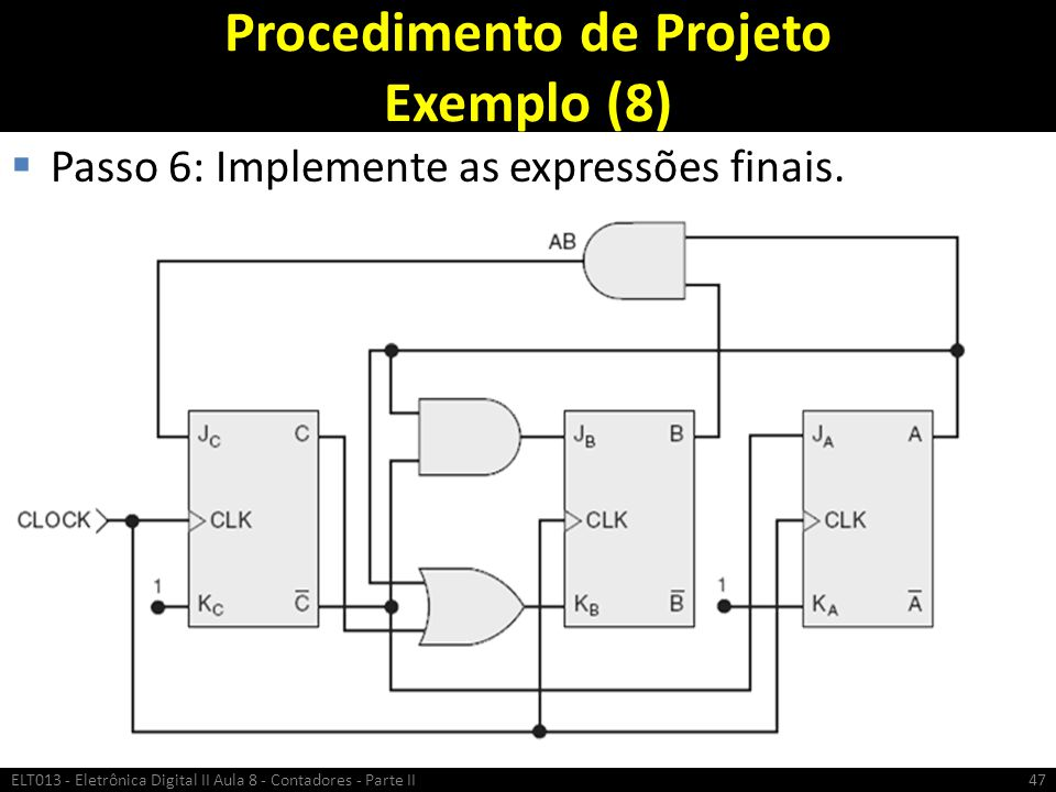 Procedimento de Projeto Exemplo (8)