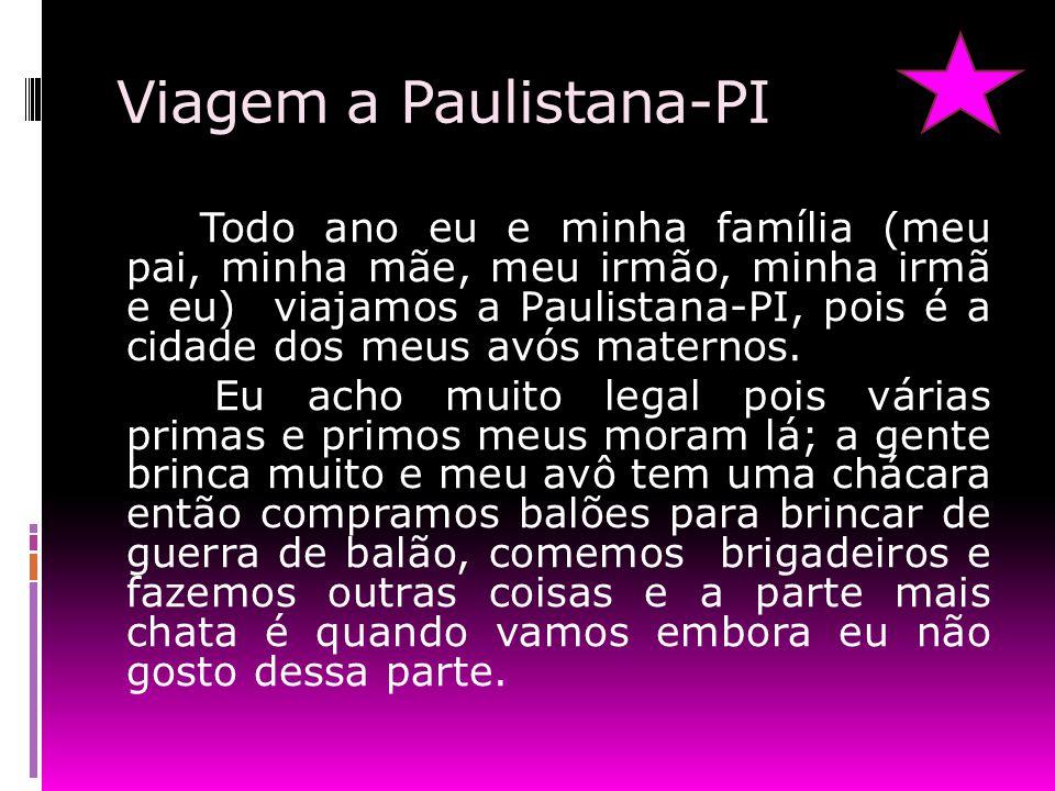 Viagem a Paulistana-PI