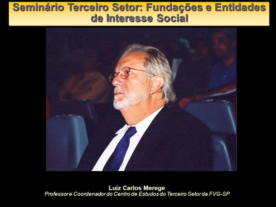 Seminário Terceiro Setor: Fundações e Entidades de Interesse Social