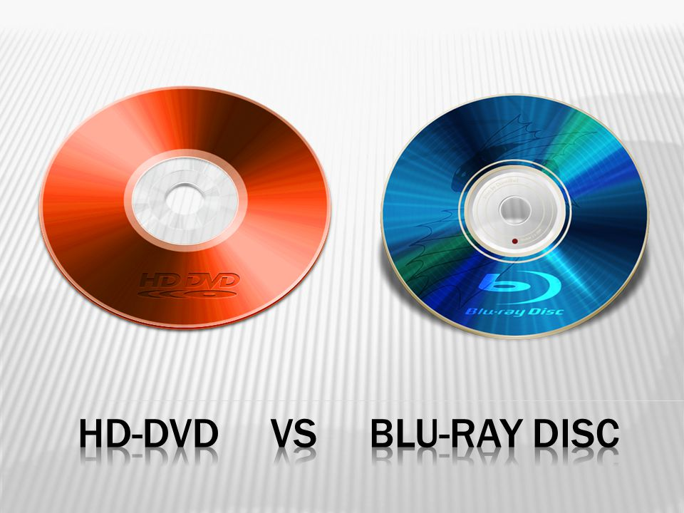 HD-DVD vs Blu-Ray Disc