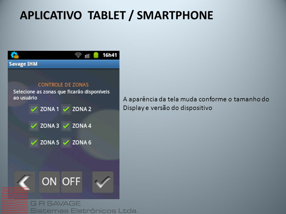APLICATIVO TABLET / SMARTPHONE