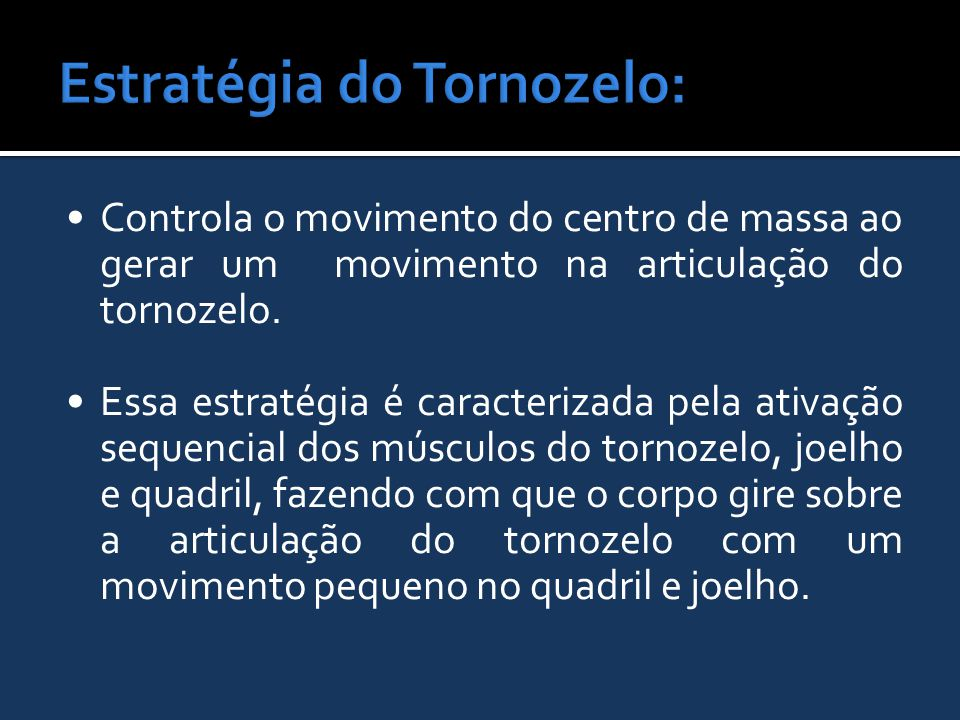 Estratégia do Tornozelo: