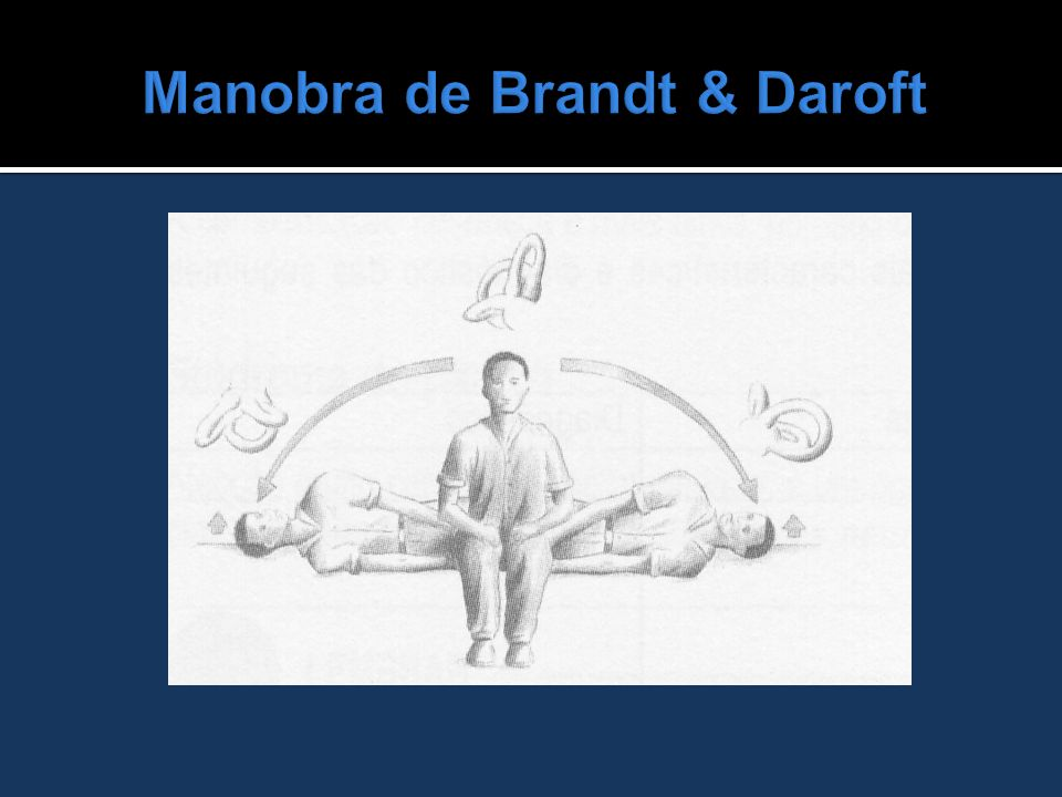 Manobra de Brandt & Daroft