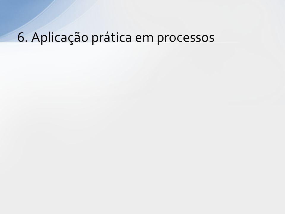 6. Aplicação prática em processos