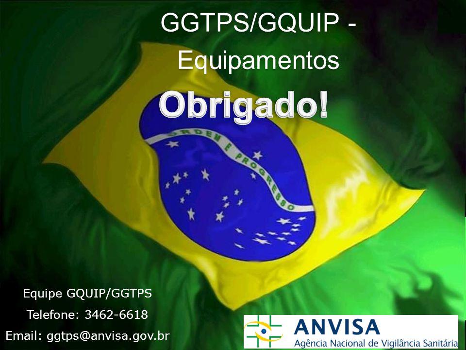 GGTPS/GQUIP - Equipamentos