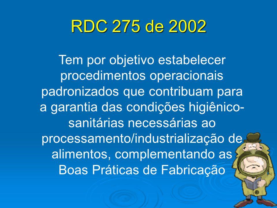 RDC 275 de 2002