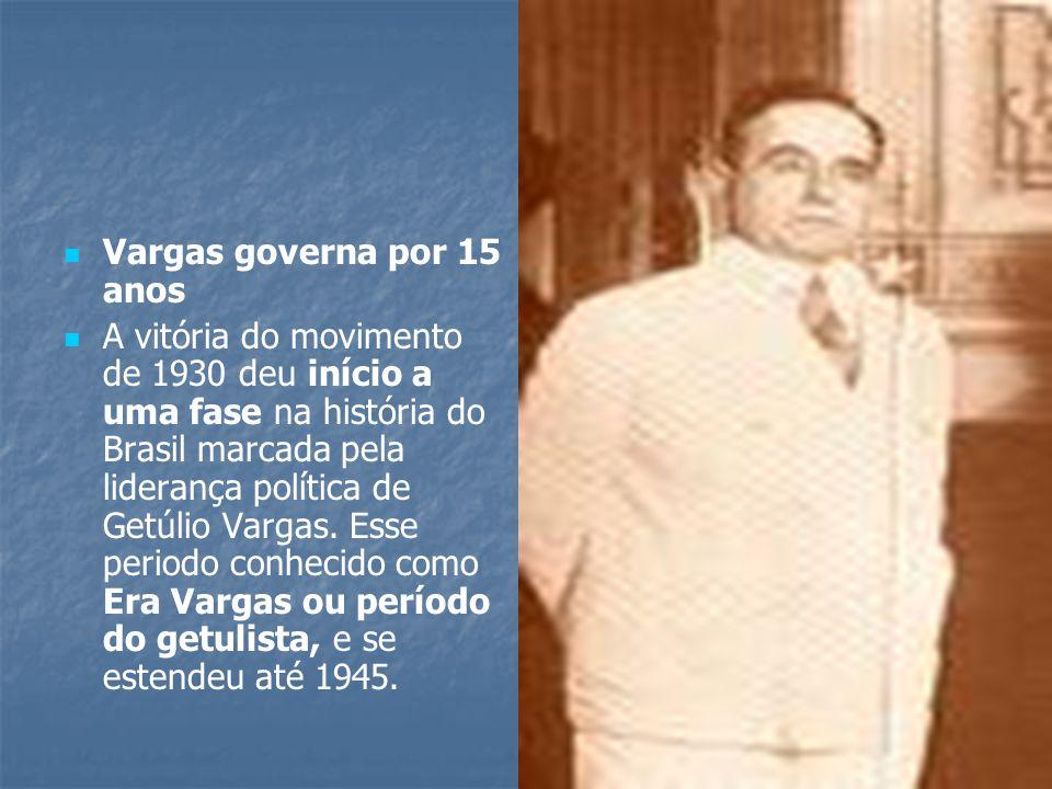 Vargas governa por 15 anos