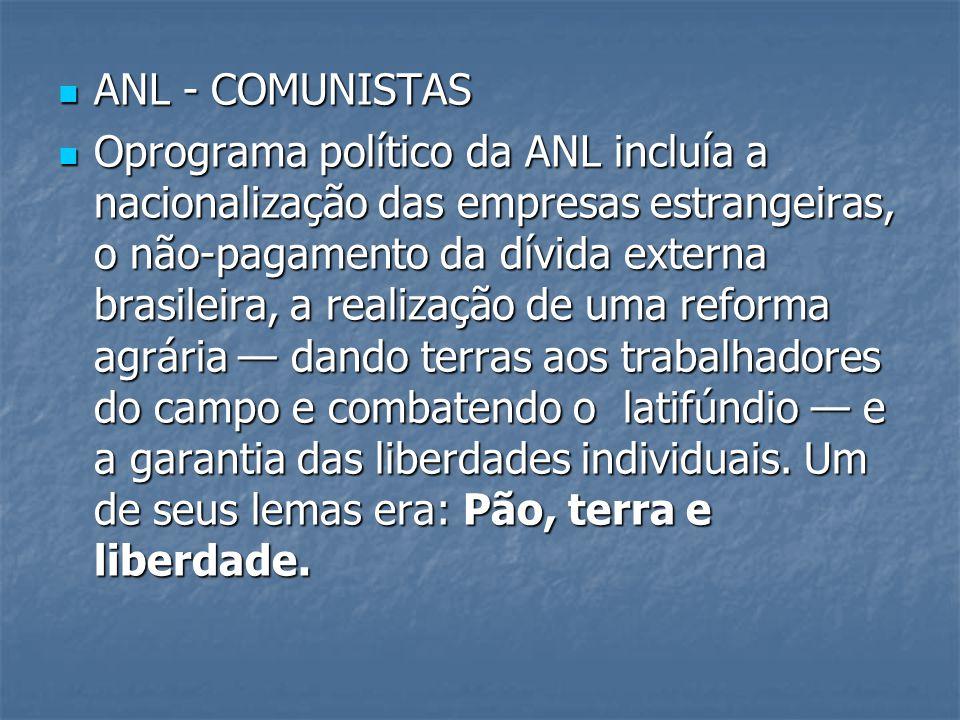 ANL - COMUNISTAS