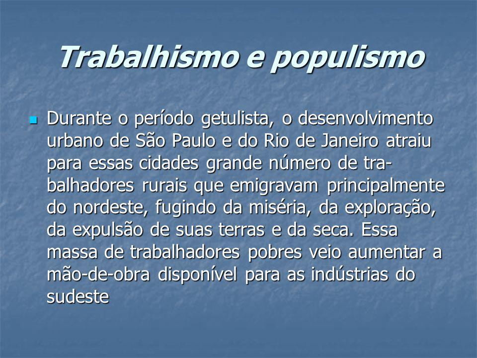 Trabalhismo e populismo