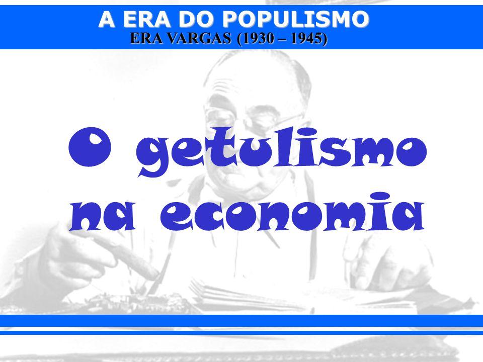 O getulismo na economia