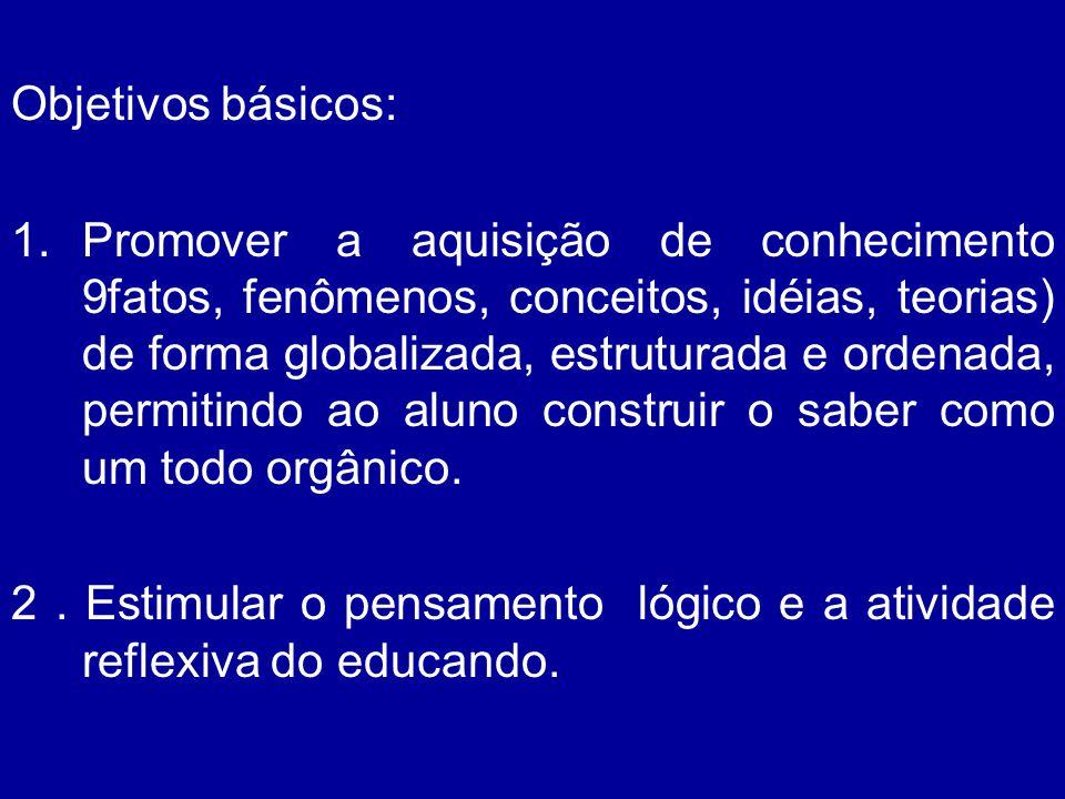 Objetivos básicos: