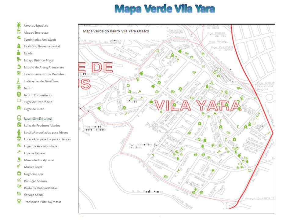 Mapa Verde Vila Yara