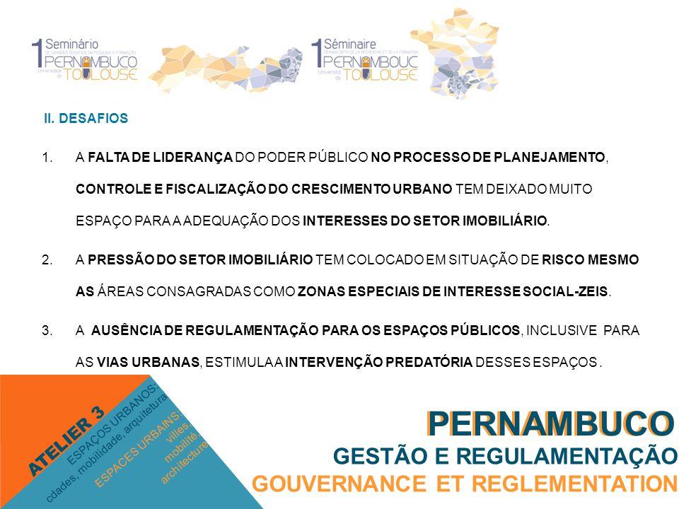 PERNAMBUCO PERNAMBUCO GESTÃO E REGULAMENTAÇÃO