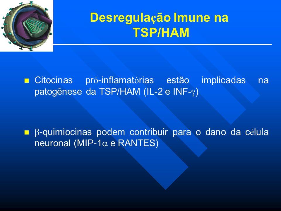 Desregulação Imune na TSP/HAM