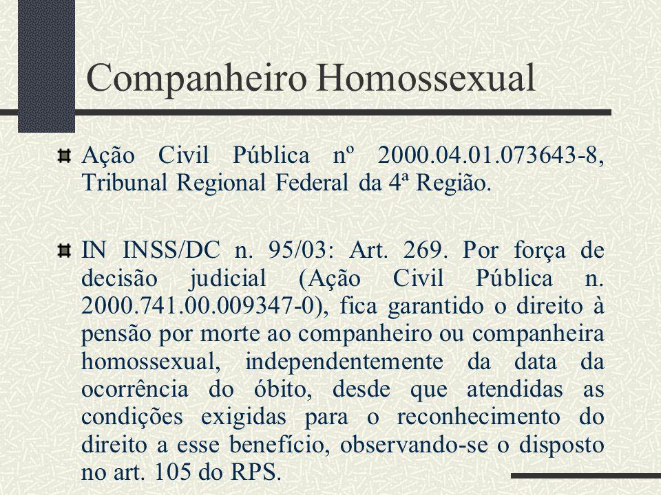 Companheiro Homossexual