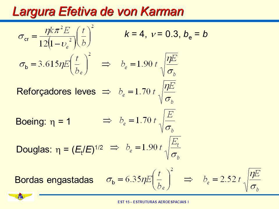 Largura Efetiva de von Karman