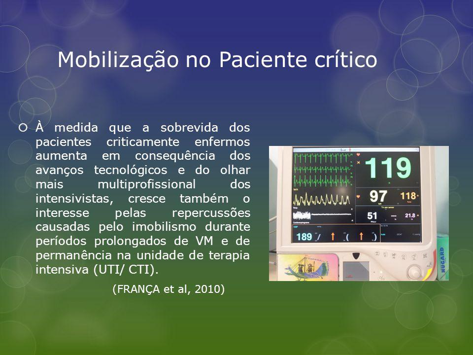 Mobilização no Paciente crítico