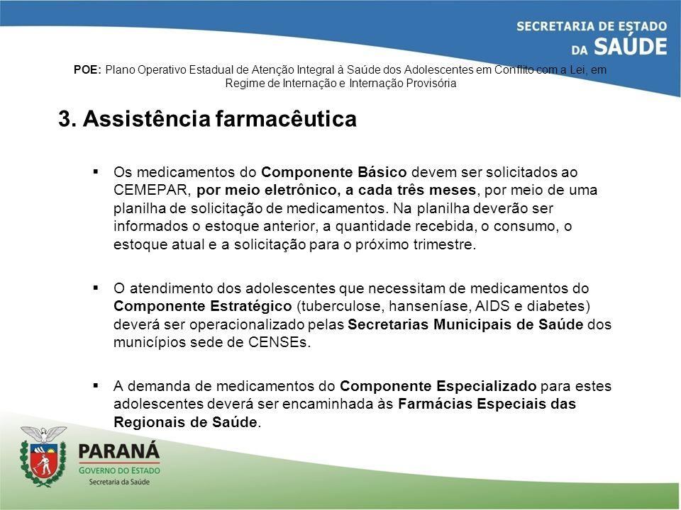 3. Assistência farmacêutica