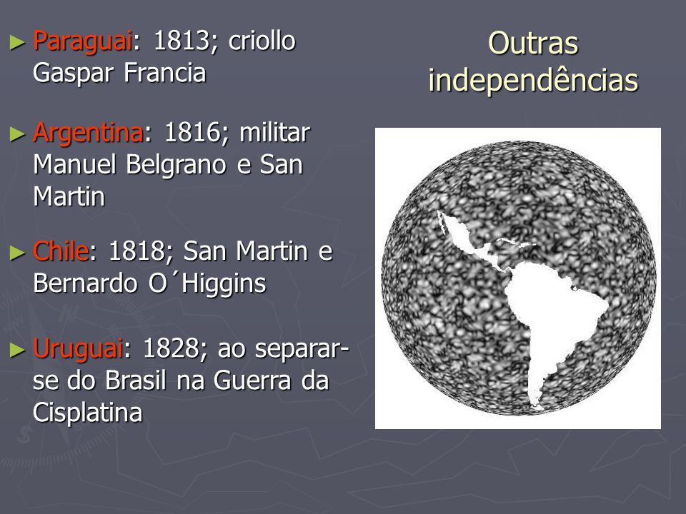Outras independências