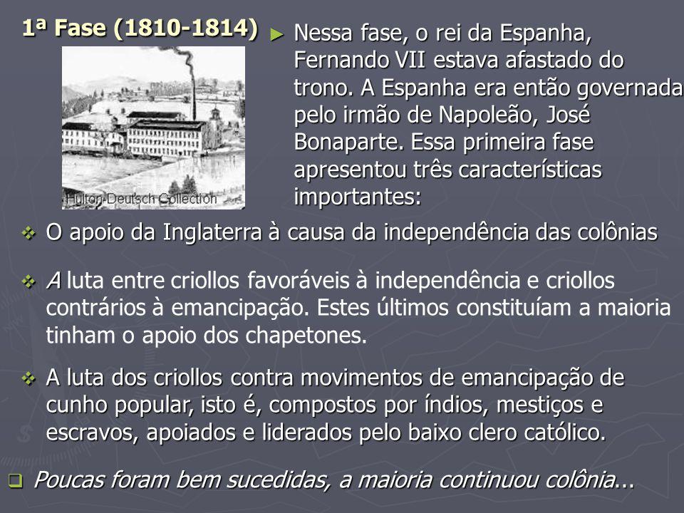 1ª Fase (1810-1814)