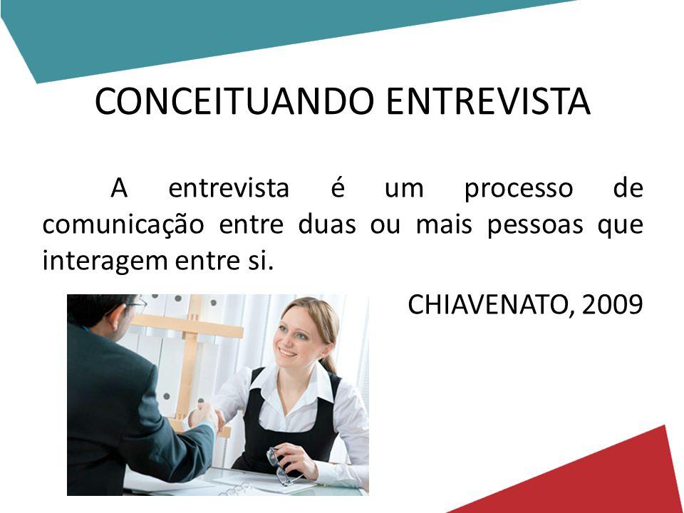 CONCEITUANDO ENTREVISTA
