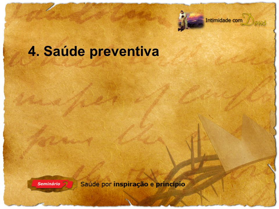 4. Saúde preventiva