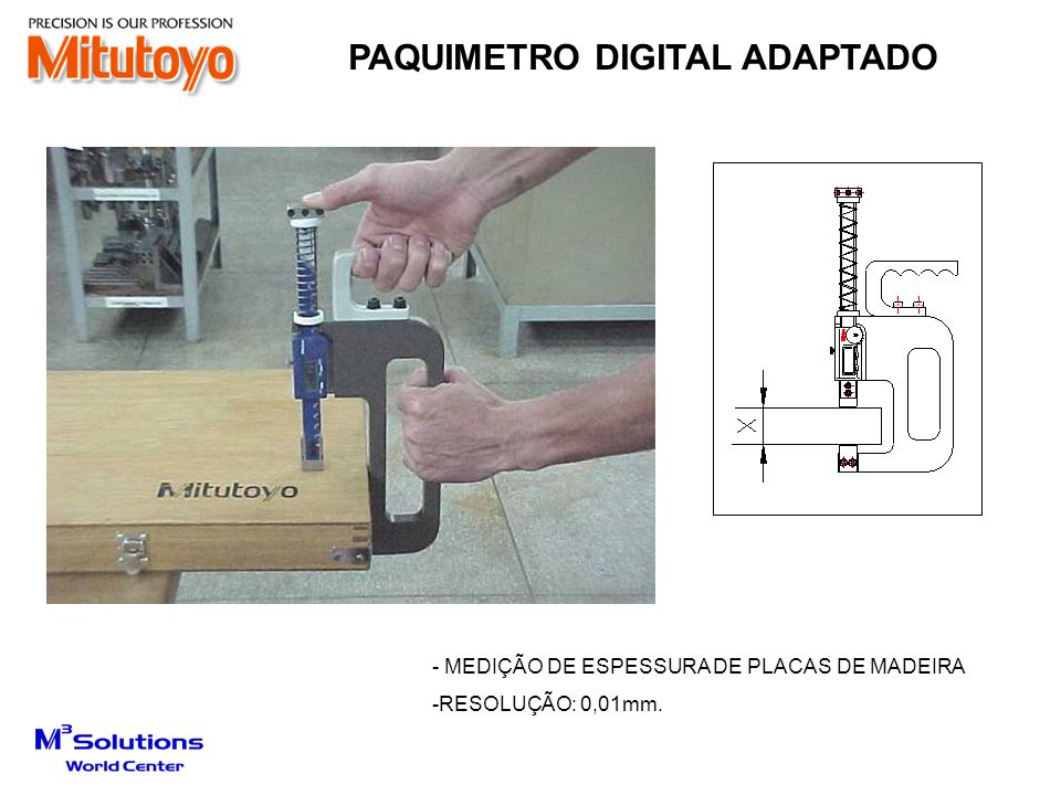 PAQUIMETRO DIGITAL ADAPTADO