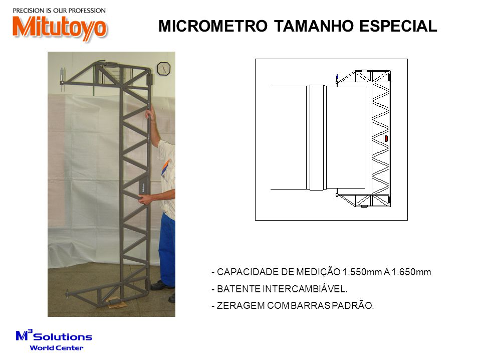 MICROMETRO TAMANHO ESPECIAL