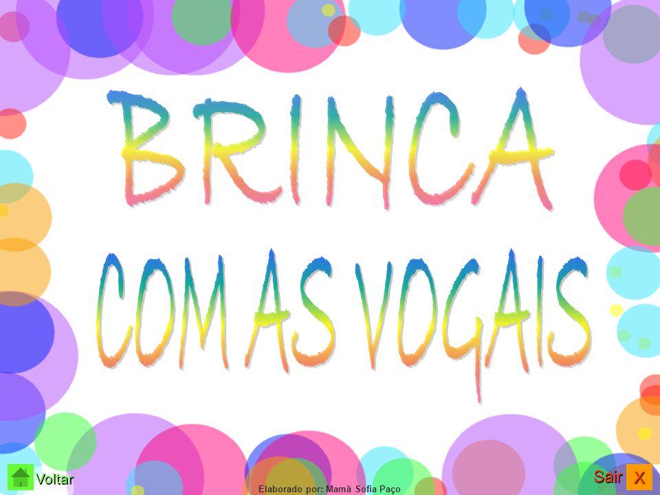 BRINCA COM AS VOGAIS