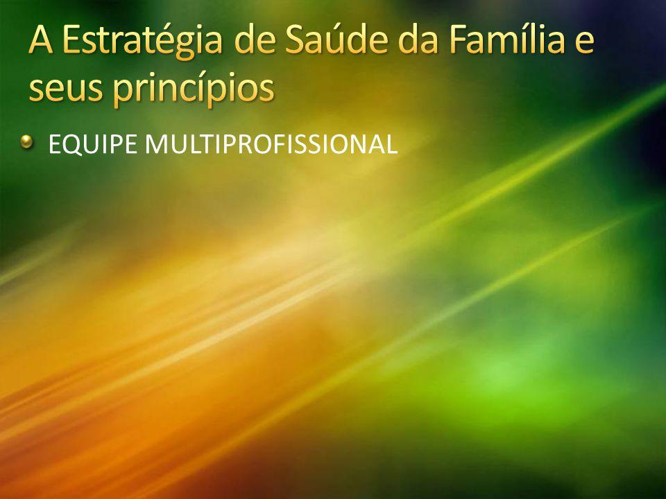 A Estratégia de Saúde da Família e seus princípios